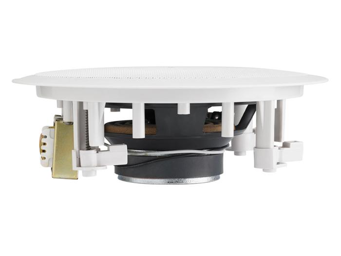 Haut-parleur de plafond 100 V 6,5'' - blanc - 2 voies