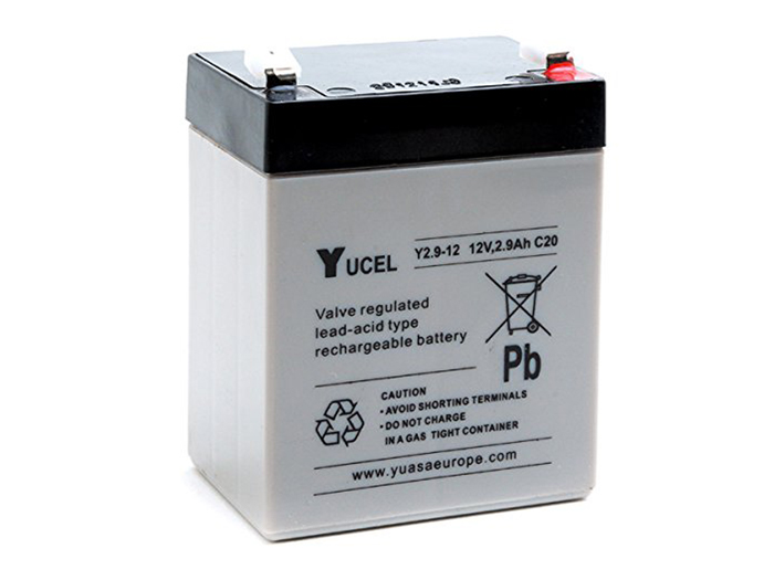Yucell 2.9-12 - Batterie Plomb 12 V - 2,9 Ah - Y2.9-12