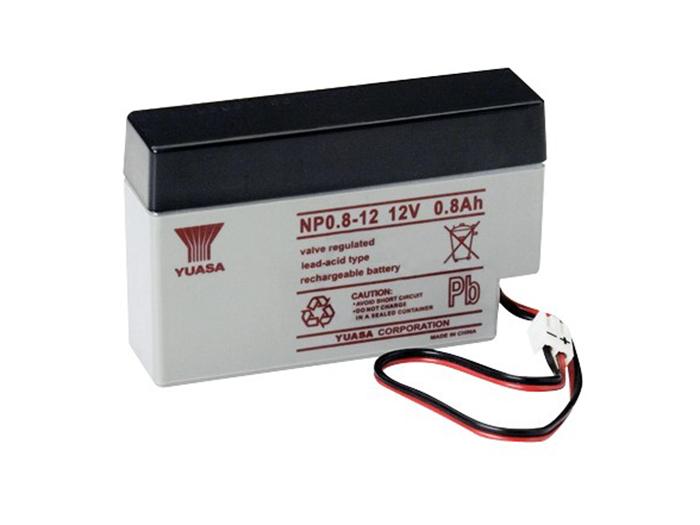 Batterie plomb 12 V - 0,8 AH - YUASA - NP0,8-12