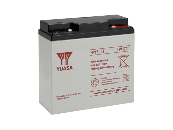 Bateria chumbo 12 V - 17 AH - YUASA - NP17-12I