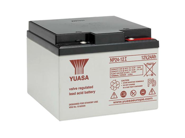 Batterie plomb 12 V - 24 AH - YUASA - NP24-12I