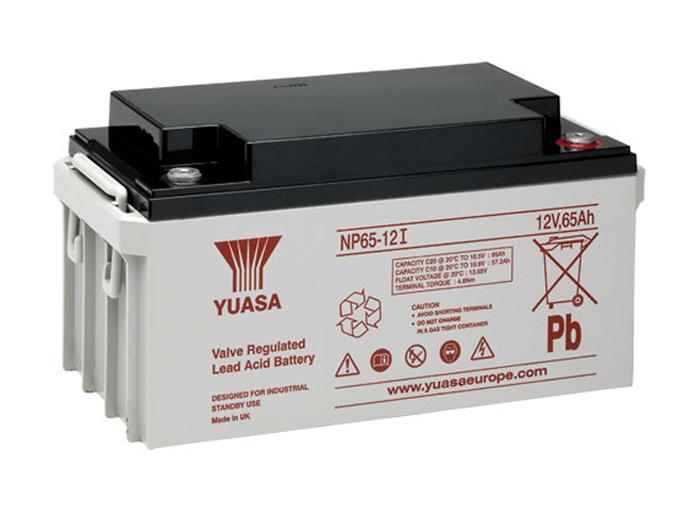 Bateria chumbo 12 V - 65 AH - YUASA - NP65-12I