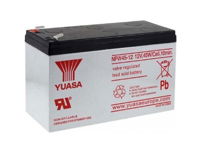 YUASA - NPW45-12 : 12 V - 8.5 AH lead-acid battery