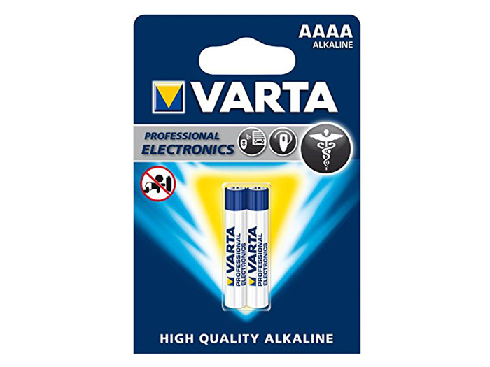 VARTA - 1.5 V AAAA alkaline battery - 2 unit blister pack