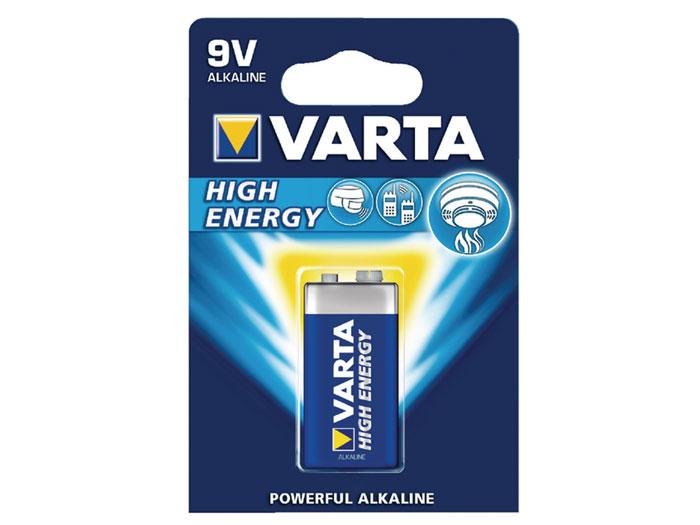 VARTA - 6LR61 - 6LF22 - 9 V alkaline battery
