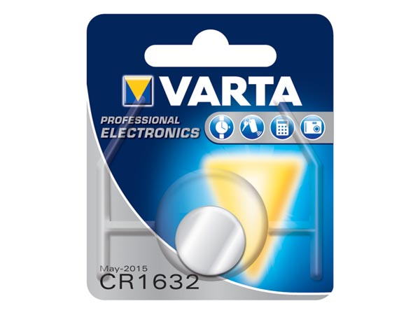 Varta CR1632 - Lithium Battery - 6632112401
