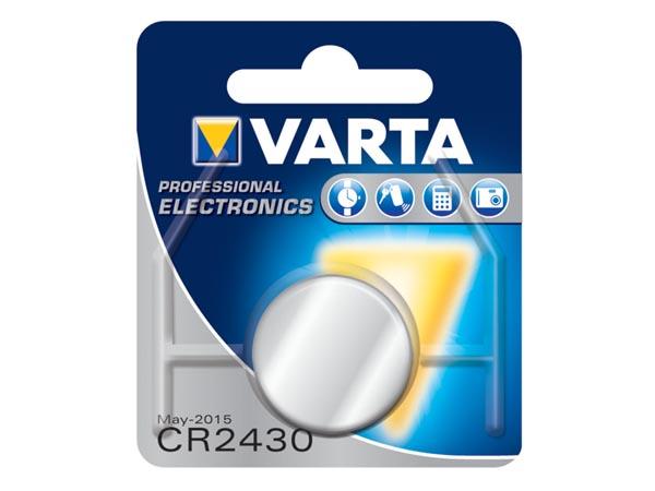 Pilha lítio CR2430 - VARTA