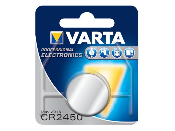 PILA LITIO CR2450 VARTA