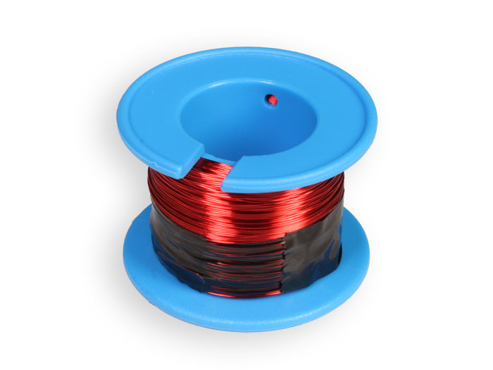 Enamelled Copper Wire Spool Ø0.60 mm - 70 g - HCE060