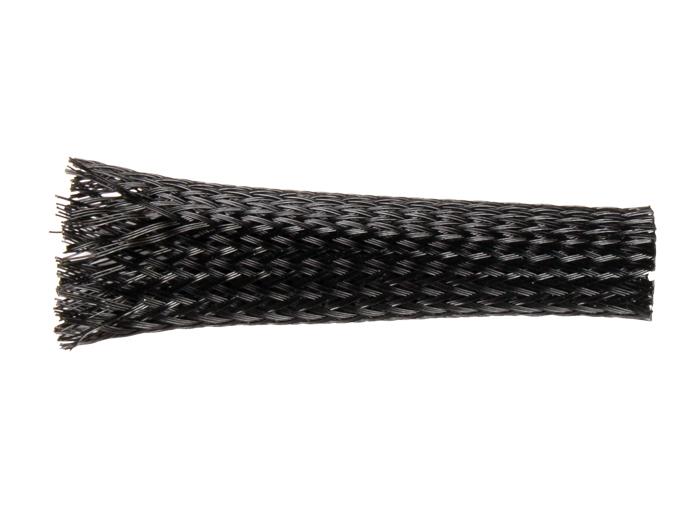 Gaine Tressée Extensible Polyester - 15 mm