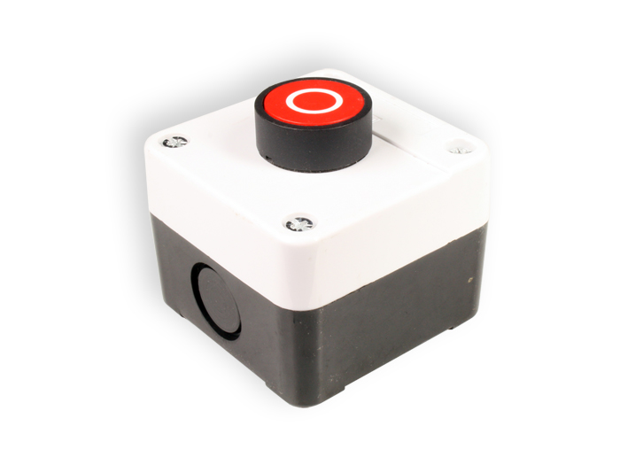 Red Push Button Switch Control Box