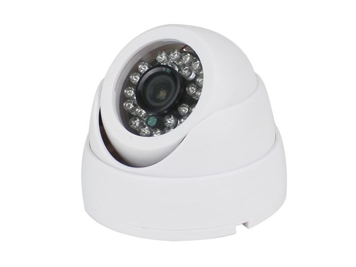 HDTVI CCTV wired dome colour camera 720p 3.6 mm IR