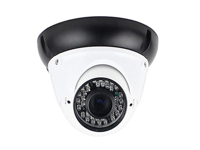 Câmara com Fios Dome HDTVI CCTV Cor 720p 2,8..12 mm IR - HM-TVI100S-VDH30