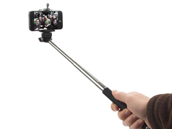 Extendable Monopod - with Smartphone Holder and WiFi Remote Control Shutter Release - Selfie Stick - CAMB18