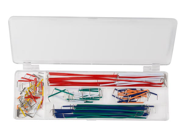 Set of Breadboard jumper Cable Wires - 140 Units - WJW140