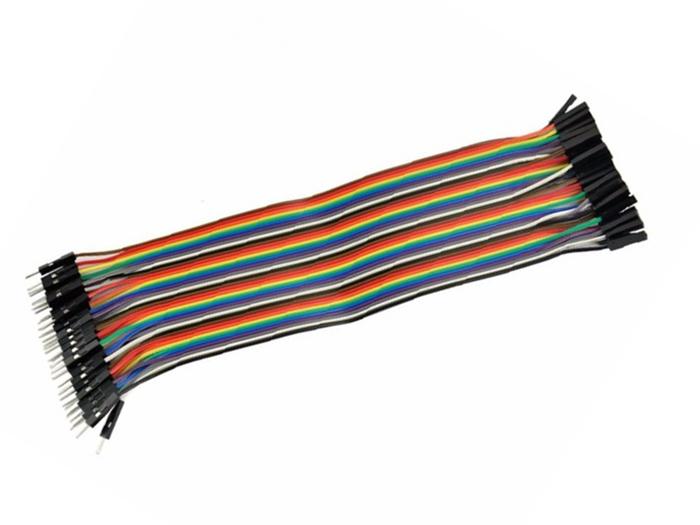 40 Piece Male - Female Ribbon Cable - 108.0006