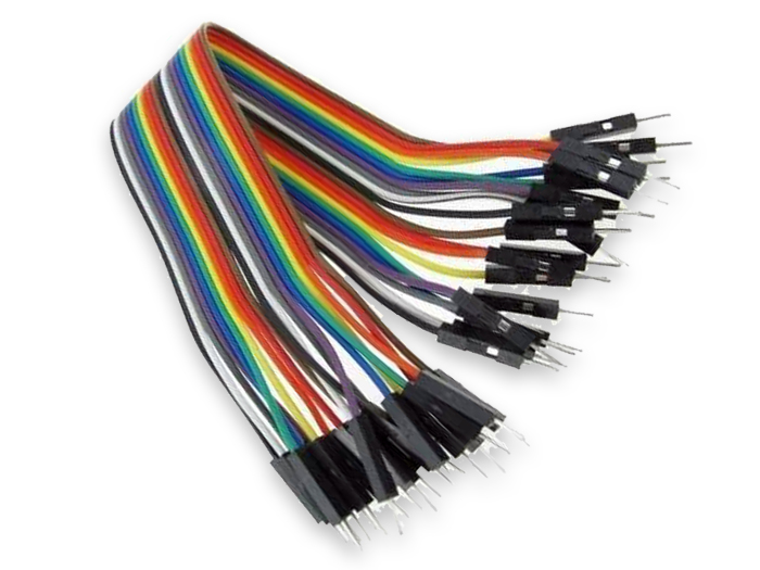 40 Piece Male - Male Ribbon Cable