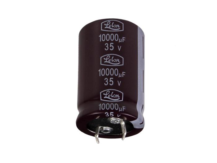 Condensateur Electrolytique Radial 10000 µF - 35 V - CE035310LS
