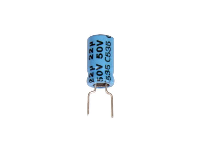 Condensateur Electrolytique Radial 22 µF - 50 V - 85°C