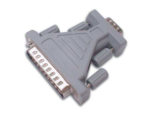 Adaptador sub-D 9 Pin Hembra - 25 Pin Macho