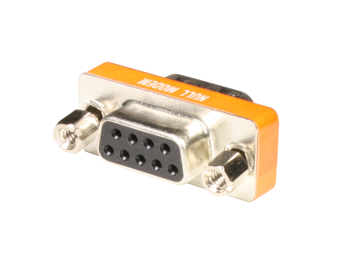 D-sub 9 Pin Female to 15 Pin Female Adaptor - Null Modem