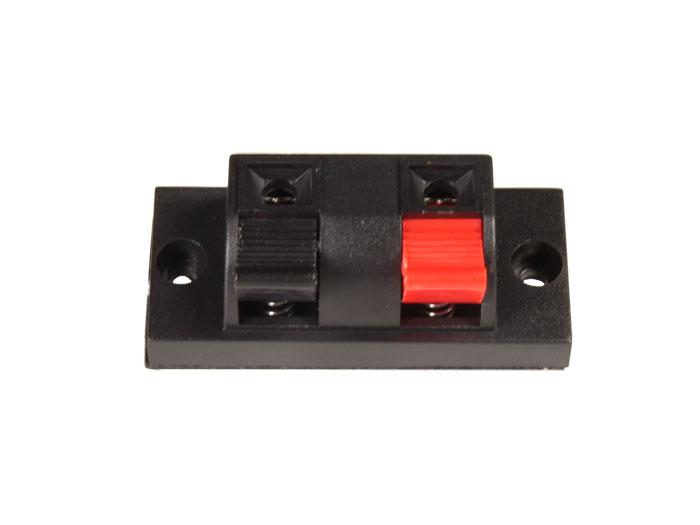 Base coluna de som - tipo botão - 2 contactos