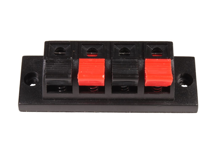 Panel-Mount Speaker Terminal - Switch type - 4 Way