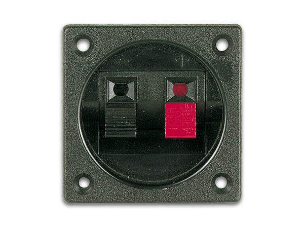 Panel-Mount Speaker Terminal - Circular - Switch - LSC2