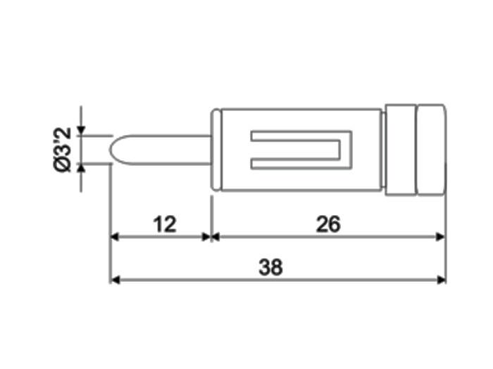 Adaptateur pour Prise Antenne Autoradio Mâle Format Standard vers DIN 41.585 Femelle
