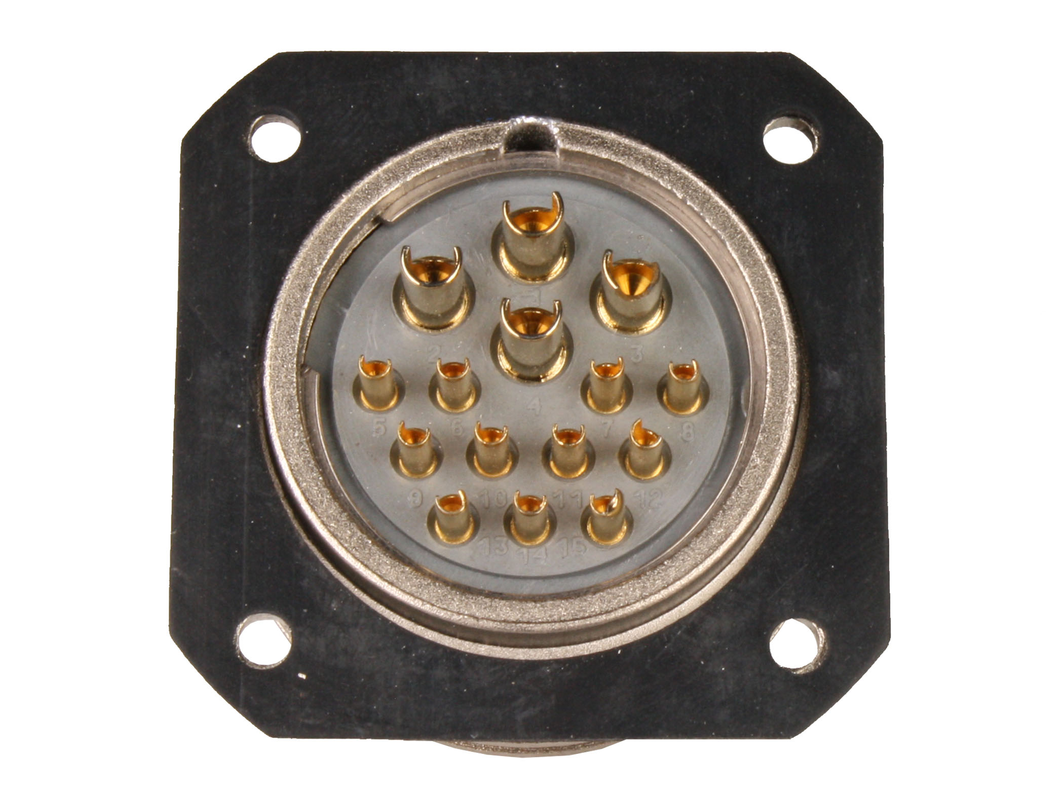 BM30B15 (9202315KP) - 15 contacts male receptacle size 30 circular connector