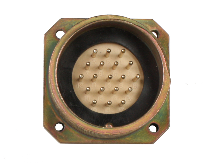 BM30B19 (9202319LP) - 19 contacts male receptacle size 30 circular connector