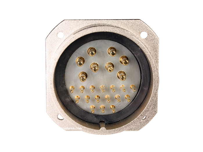 BM40B24 (C9202424AAP) - 24 contacts male receptacle size 40 circular connector