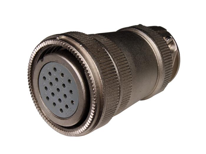 Connecteur circulaire taille 30 fiche femelle droite 19 pôles FHR30B19 (9206319LP)