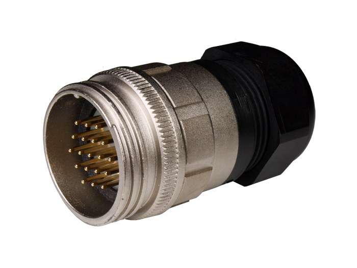 PMR30B19 (9201319L) - 19 contacts male size 30 circular connector extender