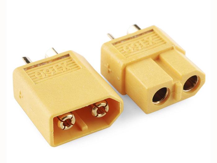 Connecteur XT60 - Mâle et Femelle - XT60-F+XT60-M