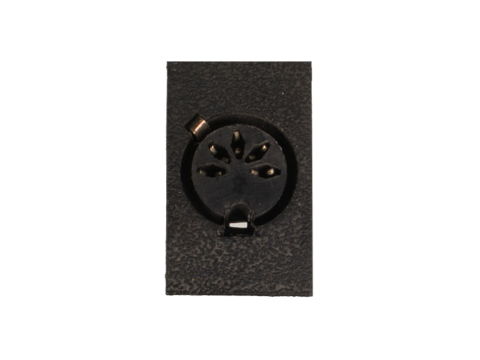 DIN 41524 Female Connector 5 Pin Chassis-Mount 45°