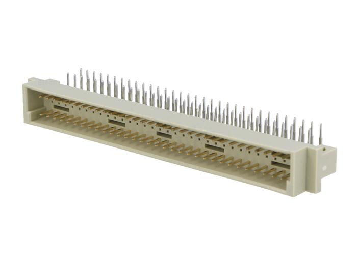 Connecteur DIN 41612 Type c 64 pôles a+c mâle coudé