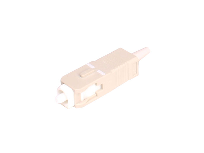 Ficha fibra ótica multimodo SC-PC 0,9 mm