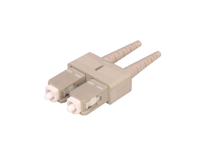 Connecteur fibre optique multimode SC-PC 2 mm duplex