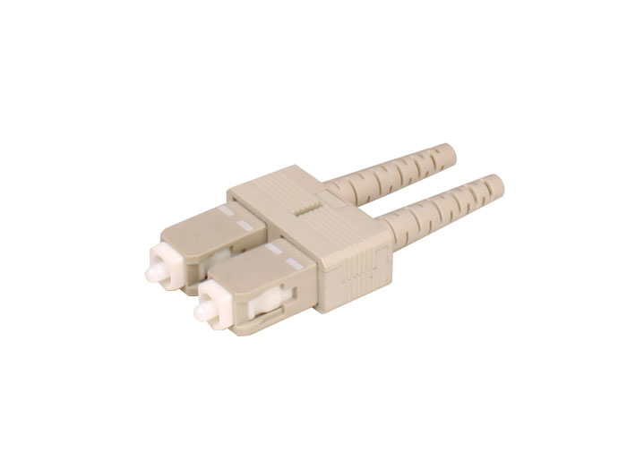 CONECTOR FIBRA OPTICA MULTIMODO SC-PC 3MM DUPLEX