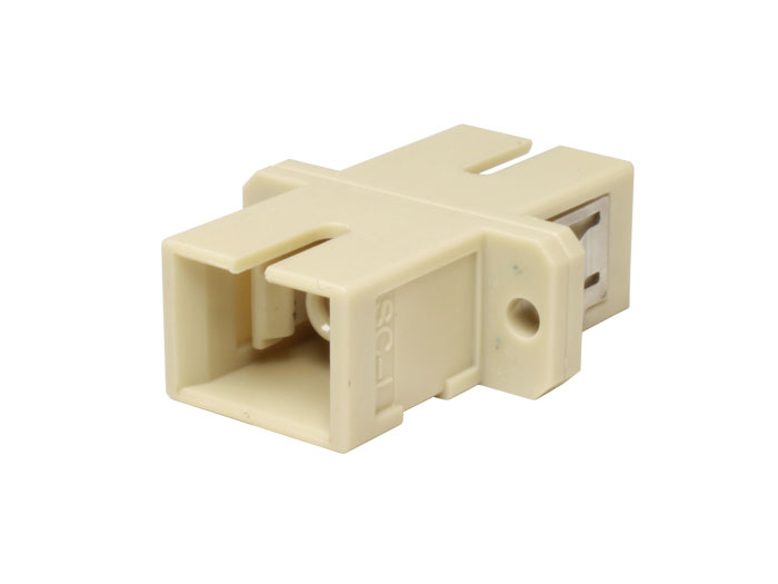 Adaptateur fibre optique LC vers LC multimode duplex
