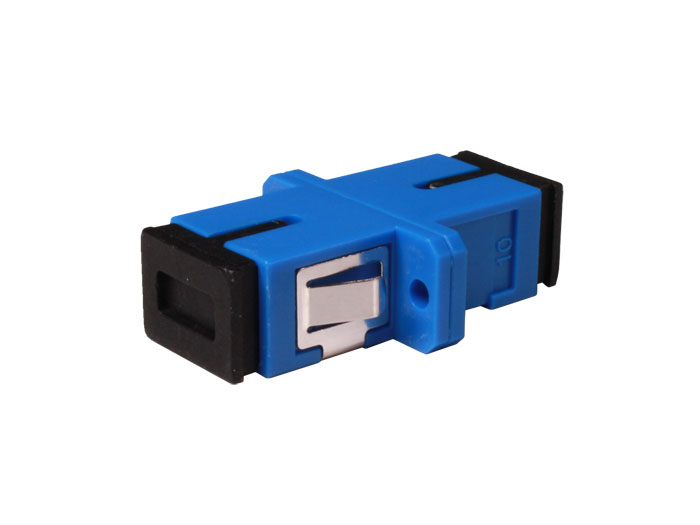 SC to SC Single-Mode Fiber Optic Adapter Simplex