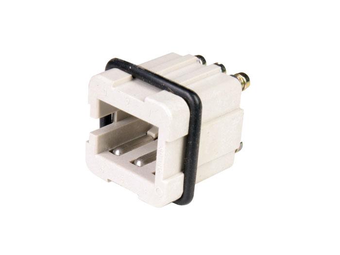 Han female connector hts-amp 6 pole