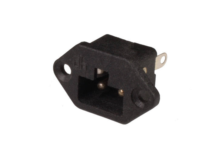 Power Plug Connector Male Base - Polarized