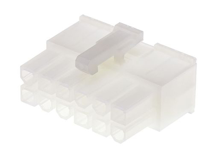 Mini-Fit Jr. Connector 5557 MOLEX Mini-Fit 39-01-2120 (similar to MF42-HF-12 ) 4.2 mm female 12 pins