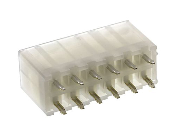Molex Mini-Fit Jr. 5566 - 4.2 mm Male 12 Pins Connector - Similar MF42-SD-12 - 39-28-1123