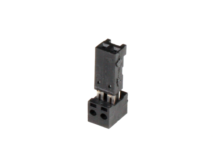 Autocom - 2.54 mm Cable-Mount Female Header Connector - 2 Pins