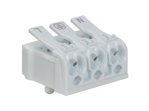 Terminal Block 3 Contacts 2.5 mm - without Screws - TB3SL