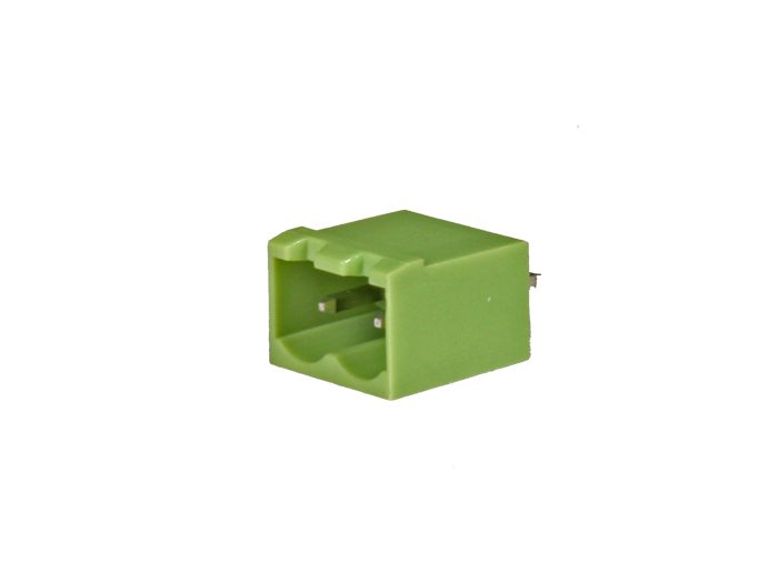 5.08 mm pitch - pluggable straight male closed terminal block - 2 contacts
