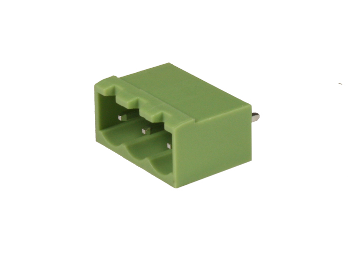 5.08 mm pitch - pluggable straight male closed terminal block - 3 contacts